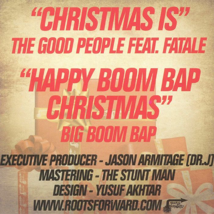GOOD PEOPLE, The/BIG BOOM BAP - A Roots Forward Christmas (free with any order)