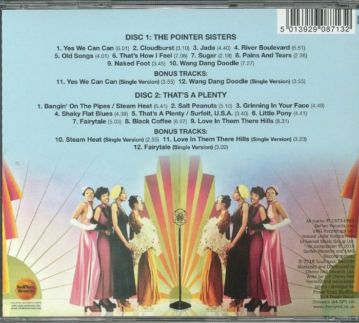 POINTER SISTERS - The Pointer Sisters/That's A Plenty
