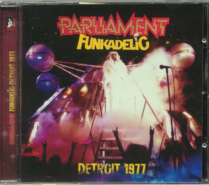 PARLIAMENT/FUNKADELIC - Detroit 1977