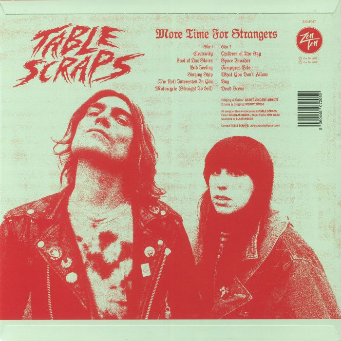 TABLE SCRAPS - More Time For Strangers