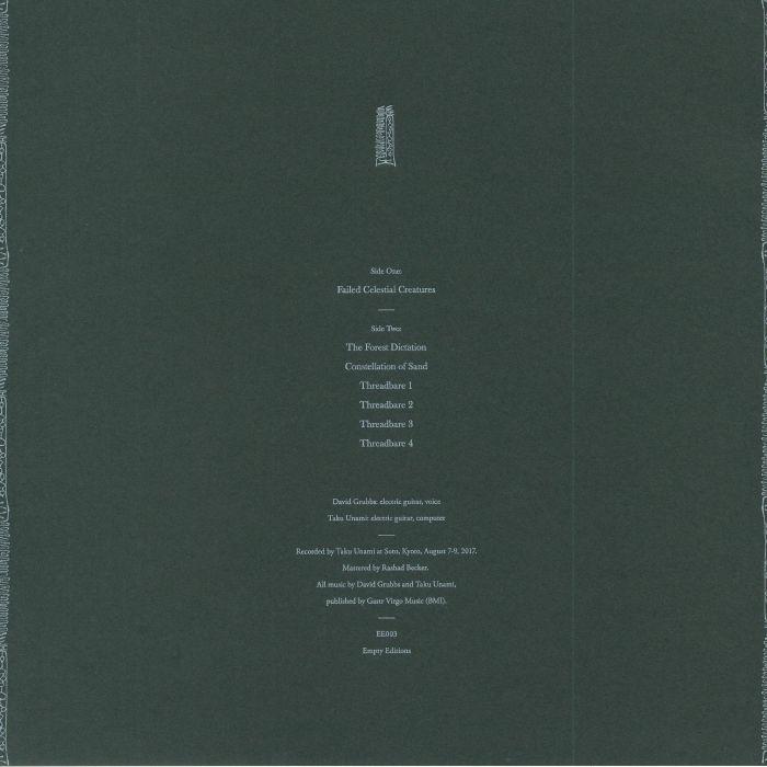 GRUBBS, David/TAKU UNAMI - Failed Celestial Creatures