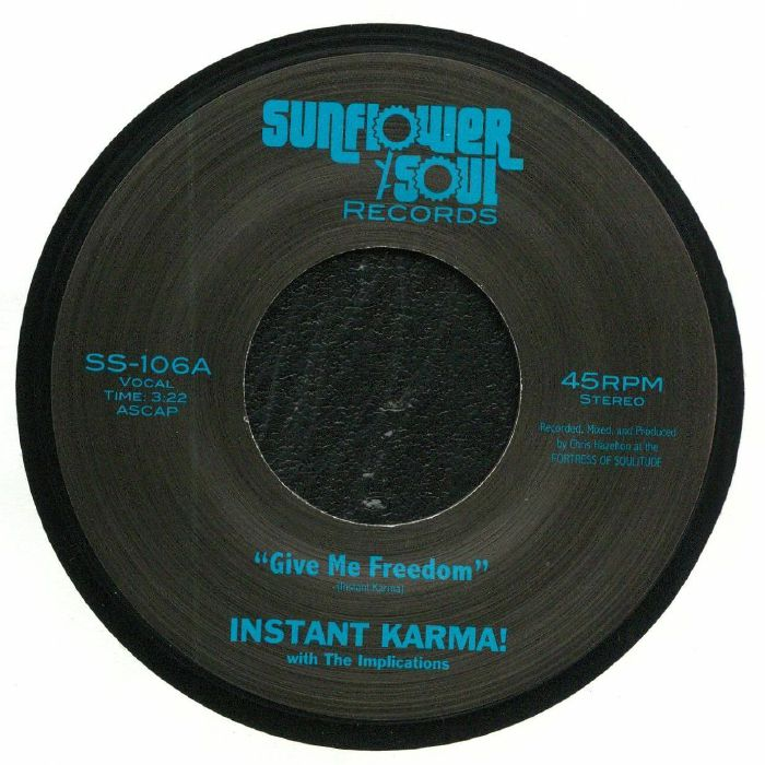 INSTANT KARMA with THE IMPLICATIONS - Give Me Freedom