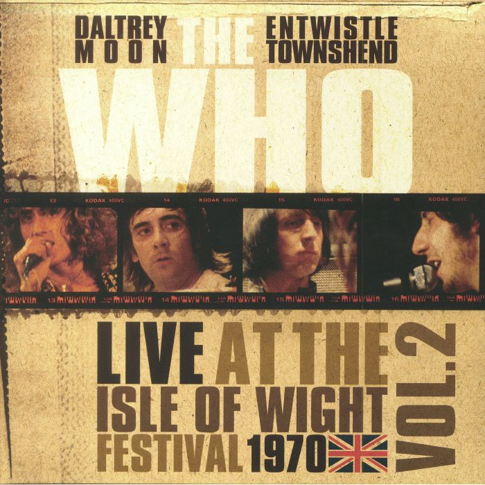 WHO, The - Live At The Isle Of Wight Festival 1970: Vol 2 (Record Store Day 2018)