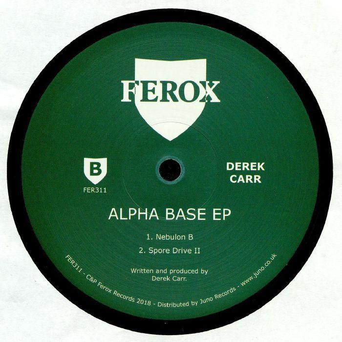CARR, Derek - Alpha Base EP