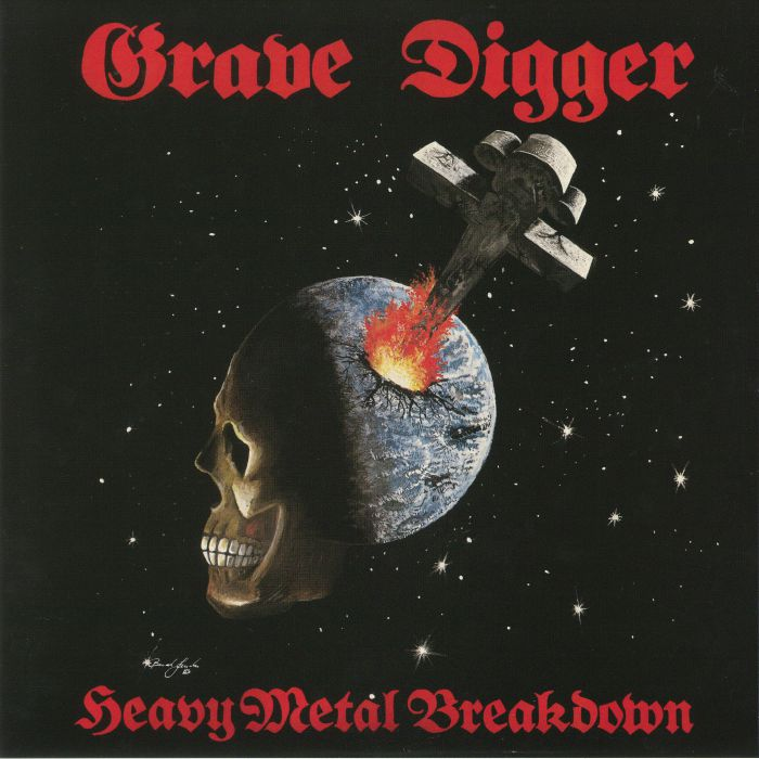 GRAVE DIGGER - Heavy Metal Breakdown (reissue)