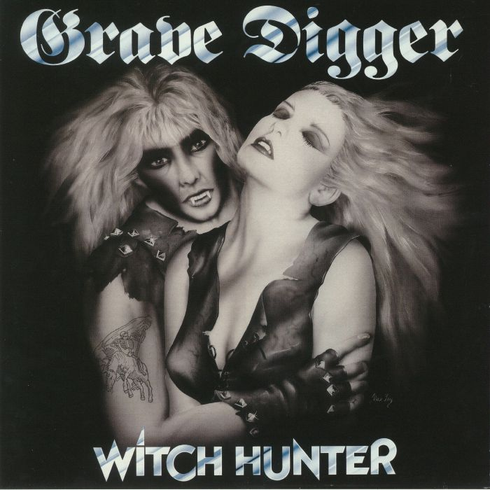GRAVE DIGGER - Witch Hunter (reissue)