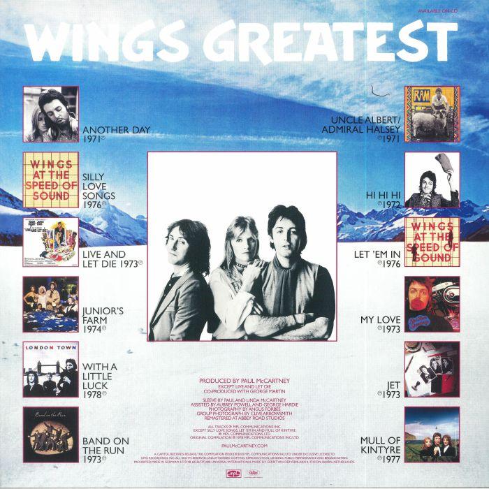 WINGS - Wings Greatest (reissue)