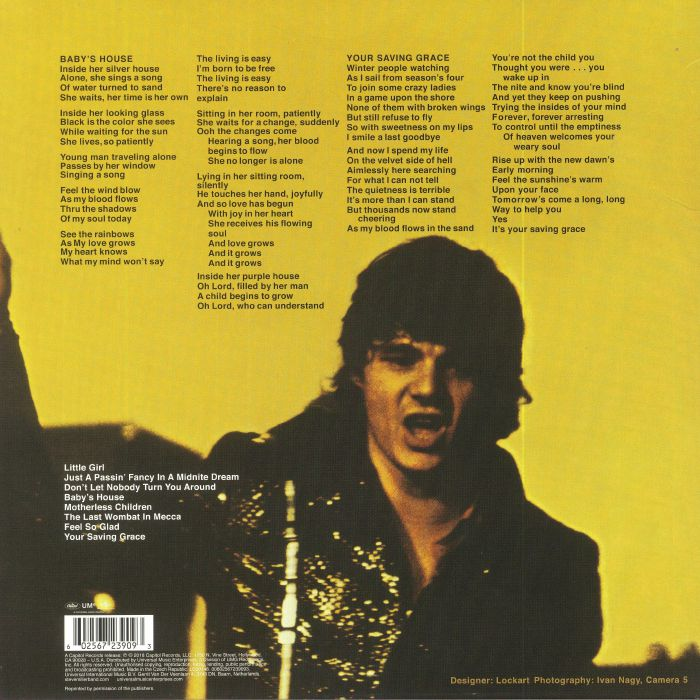 STEVE MILLER BAND, The - Your Saving Grace (reissue)