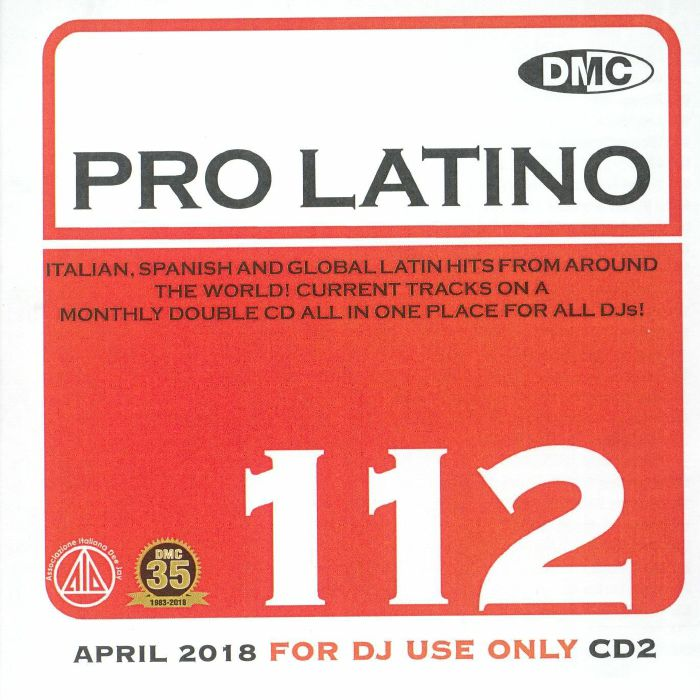 VARIOUS - DMC Pro Latino 112: March 2018 (Strictly DJ Only)