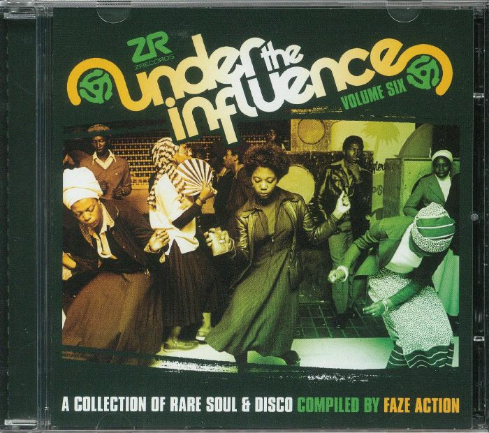 FAZE ACTION/VARIOUS Under The Influence Vol 6: A Collection Of Rare
