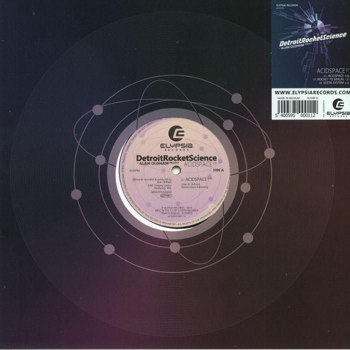 DETROITROCKETSCIENCE aka ALAN OLDHAM - Acidspace EP
