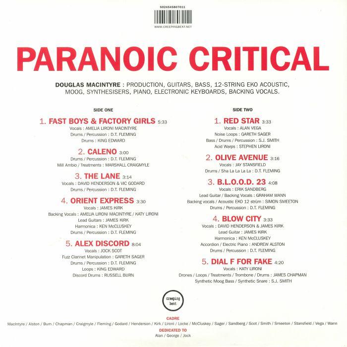 PORT SULPHUR - Paranoic Critical