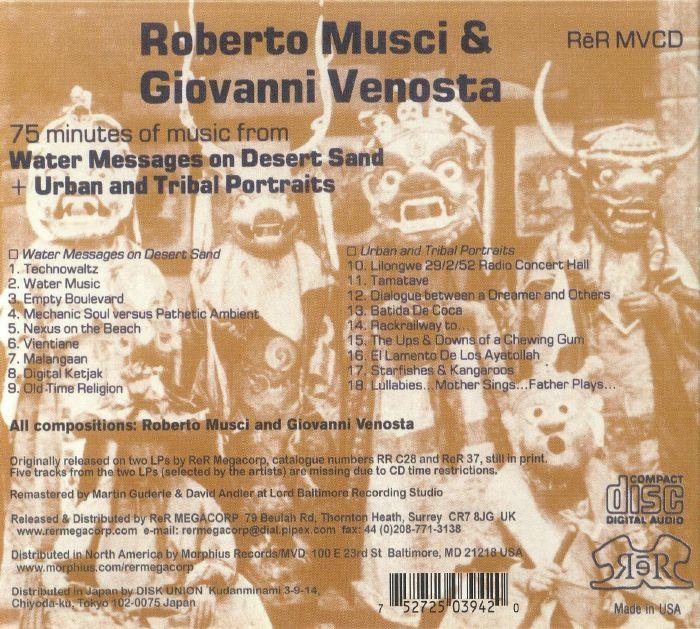 MUSCI, Roberto/GIOVANNI VENOSTA - Messages & Portraits