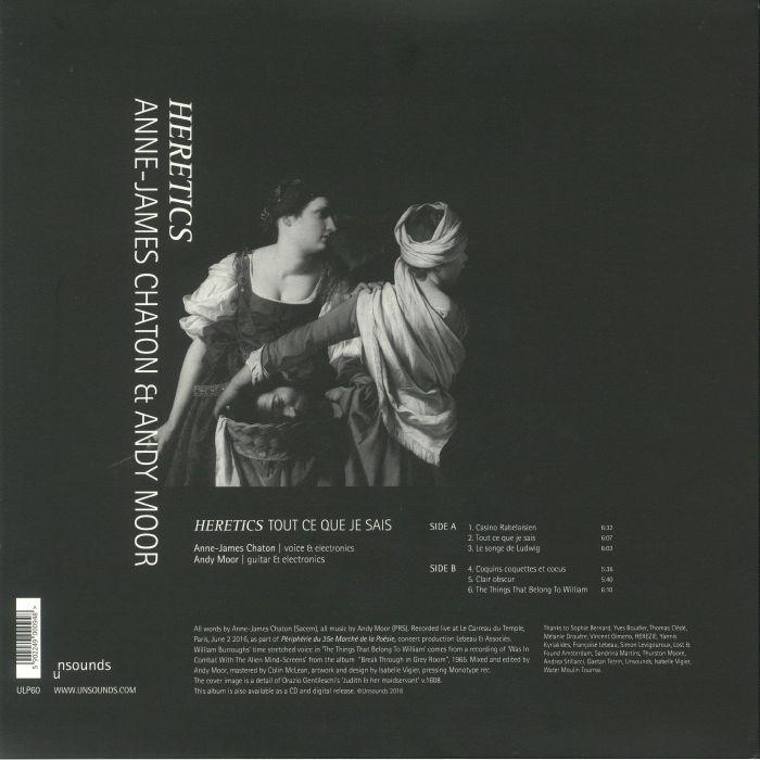 CHATON, Anne James/ANDY MOOR - Tout Ce Que Je Sais