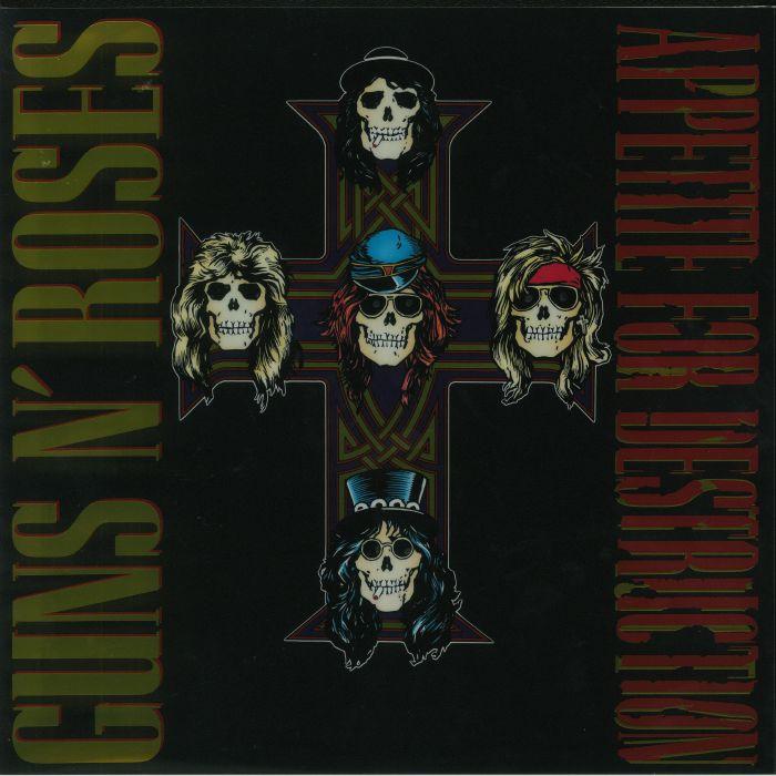 GUNS N ROSES - Appetite For Destruction (remastered)