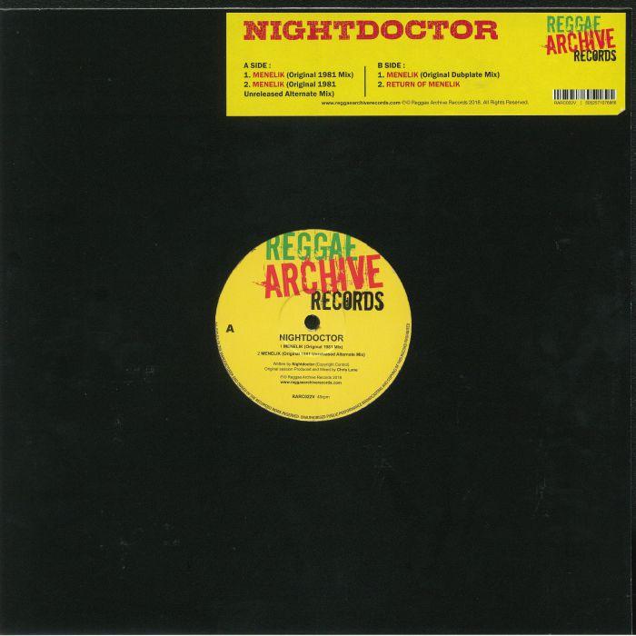 NIGHTDOCTOR - Menelik