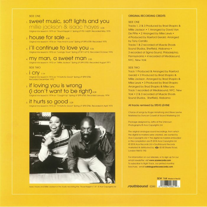 JACKSON, Millie - Exposed: The Multi Track Sessions Mixed By Steve Levine