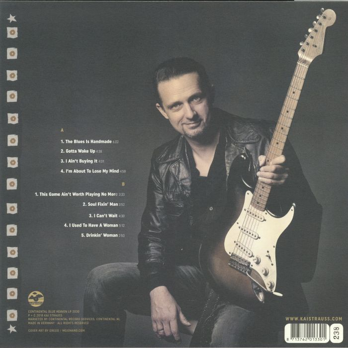 STRAUSS, Kai - The Blues Is Handmade (remastered)