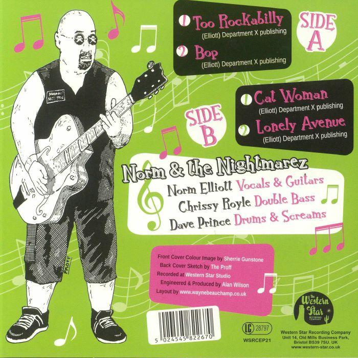 NORM & THE NIGHTMAREZ - Wild N Rockin'