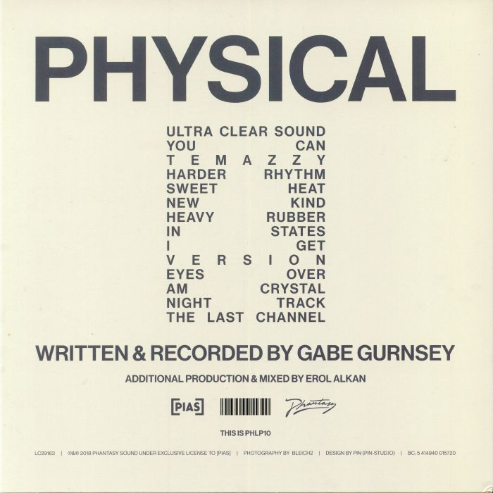 GURNSEY, Gabe - Physical