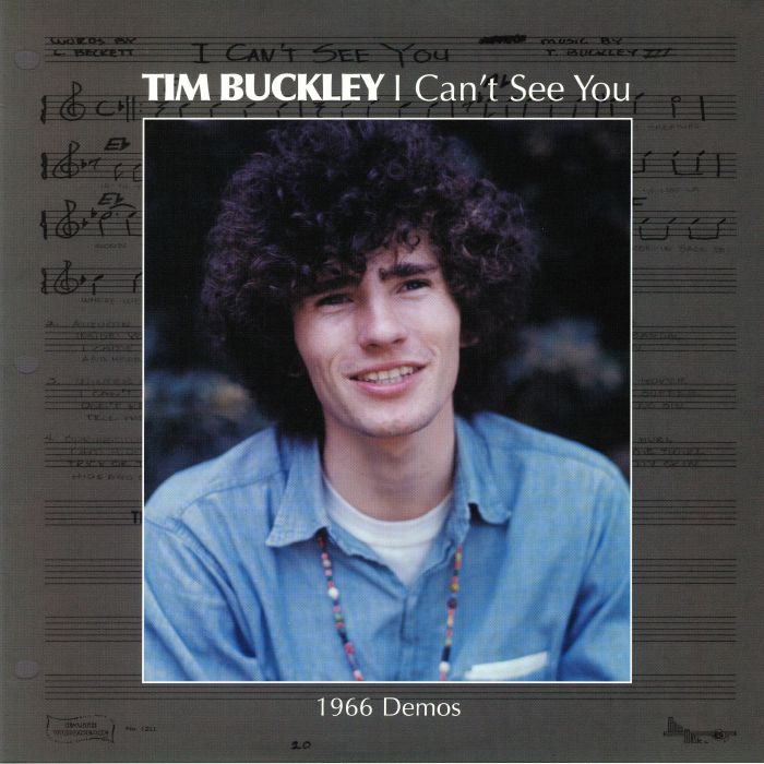 BUCKLEY, Tim - I Can't See You: 1966 Demos