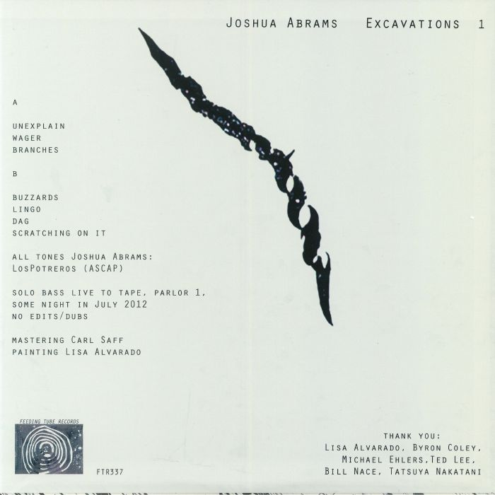 ABRAMS, Joshua - Excavations 1