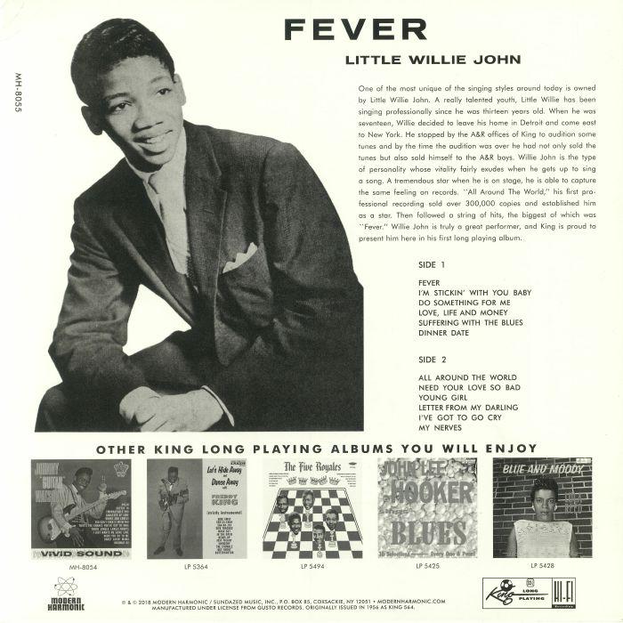 LITTLE WILLIE JOHN - Fever (reissue)