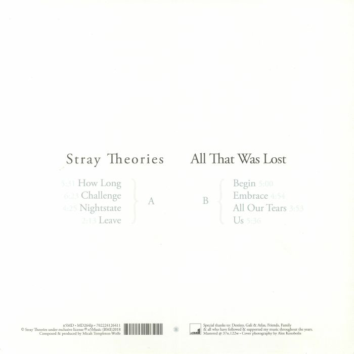 STRAY THEORIES - All That Was Lost