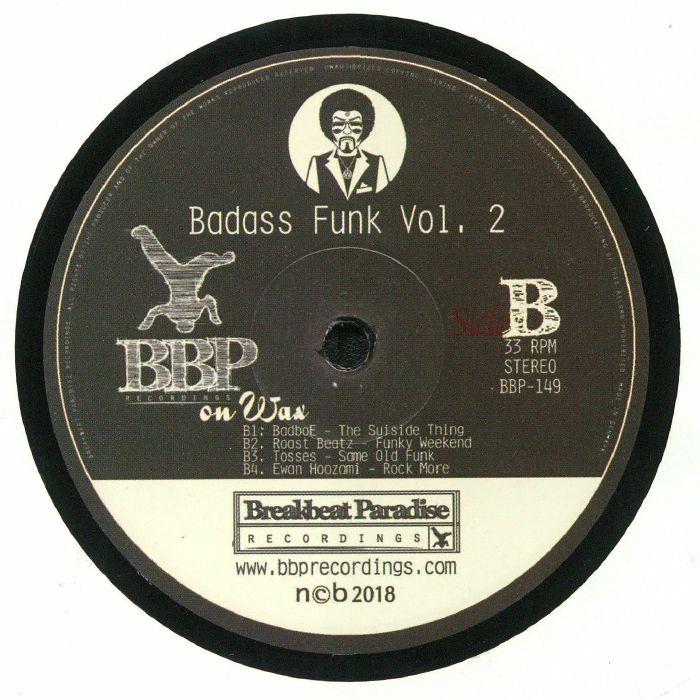 BREAKBEAT JUNKIE, The/DJP/B SIDE/MORLACK/TURNTILL/MERLIN/BADBOE/ROAST BEATZ/TOSSES/EWAN HOOZAMI - Badass Funk Vol 2