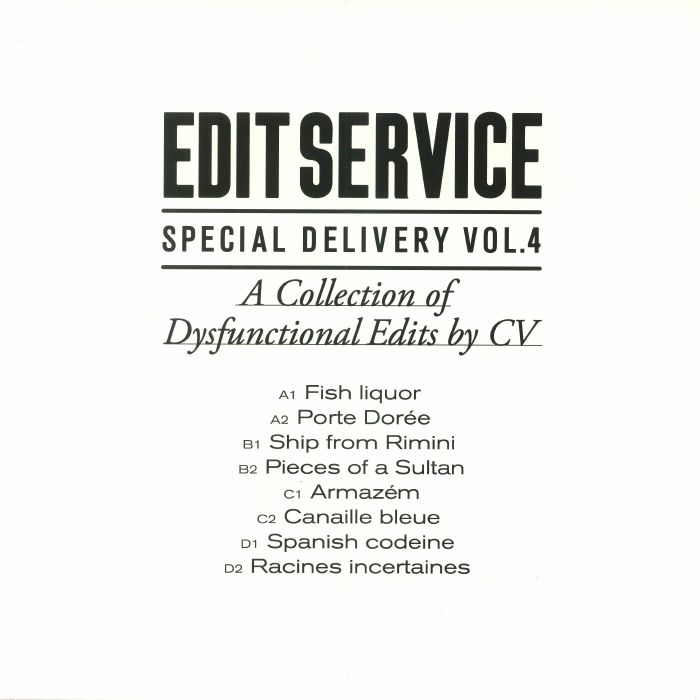 CV - Special Delivery Vol 4: A Collection Of Dysfunctional Edits By CV