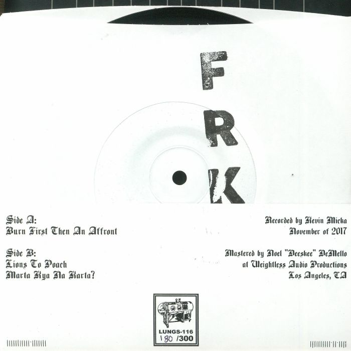FRKSE - Denigration Rapture