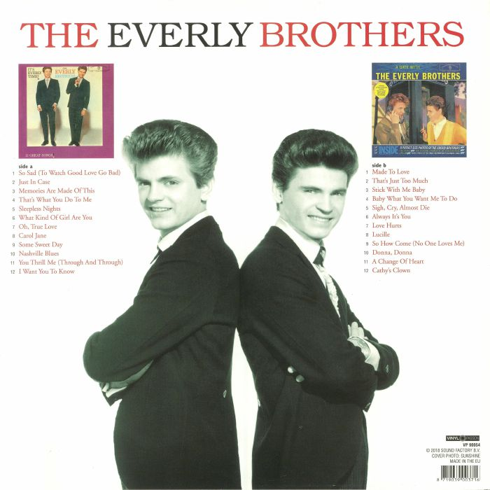 EVERLY BROTHERS, The - It's Everly Time/A Date With The Every Brothers