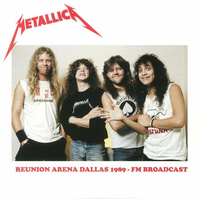 METALLICA - Reunion Arena Dallas 1989: FM Broadcast