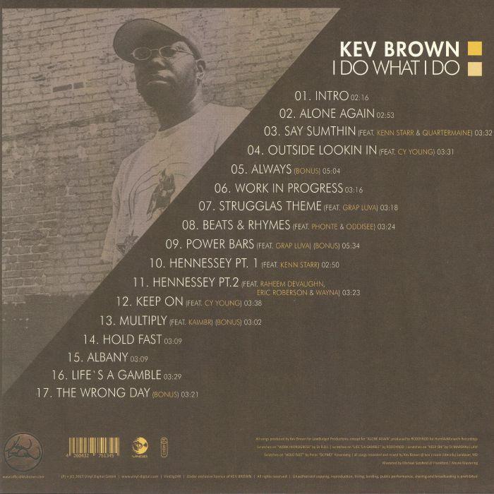 BROWN, Kev - I Do What I Do