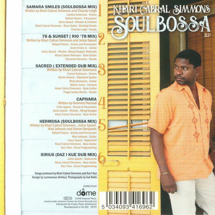 SIMMONS, Khari Cabral - Soulbossa EP