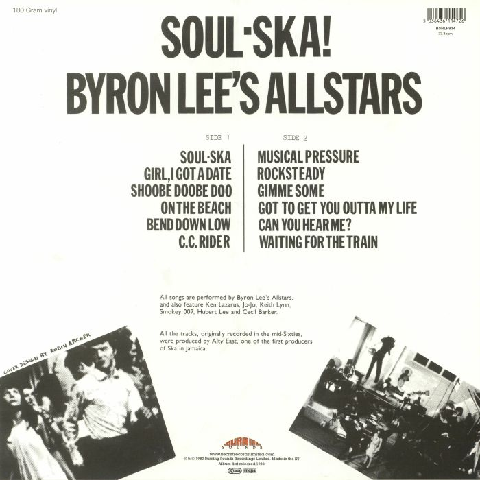 BYRON LEE'S ALLSTARS - Soul Ska!