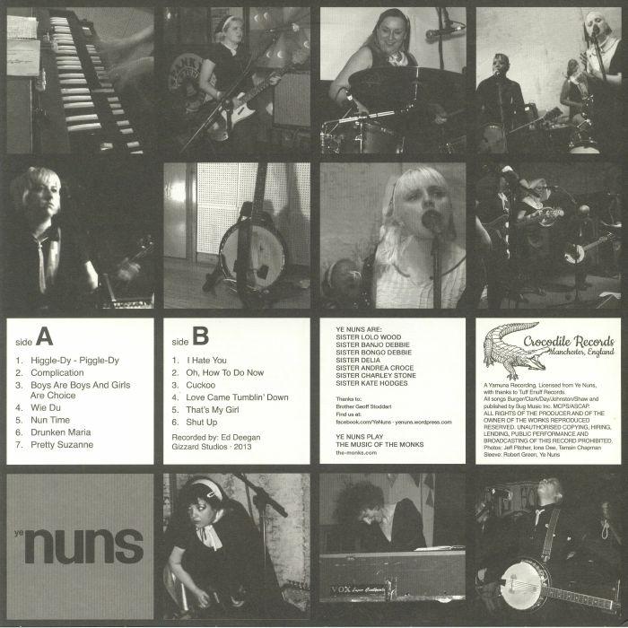 YE NUNS - Nun More Black