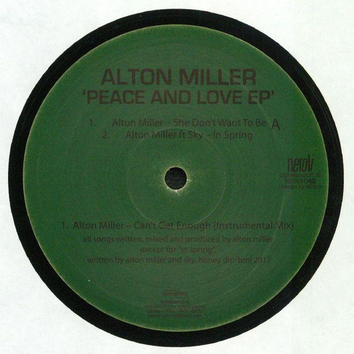 MILLER, Alton - Peace & Love EP
