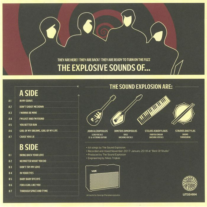 SOUND EXPLOSION, The - The Explosive Sound Of The Sound Explosion