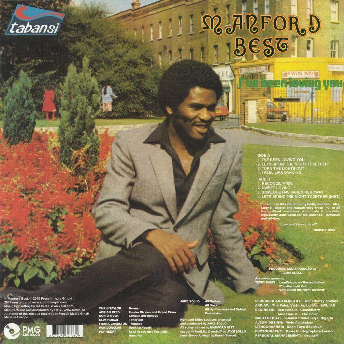 BEST, Manford - I've Been Loving You (reissue)