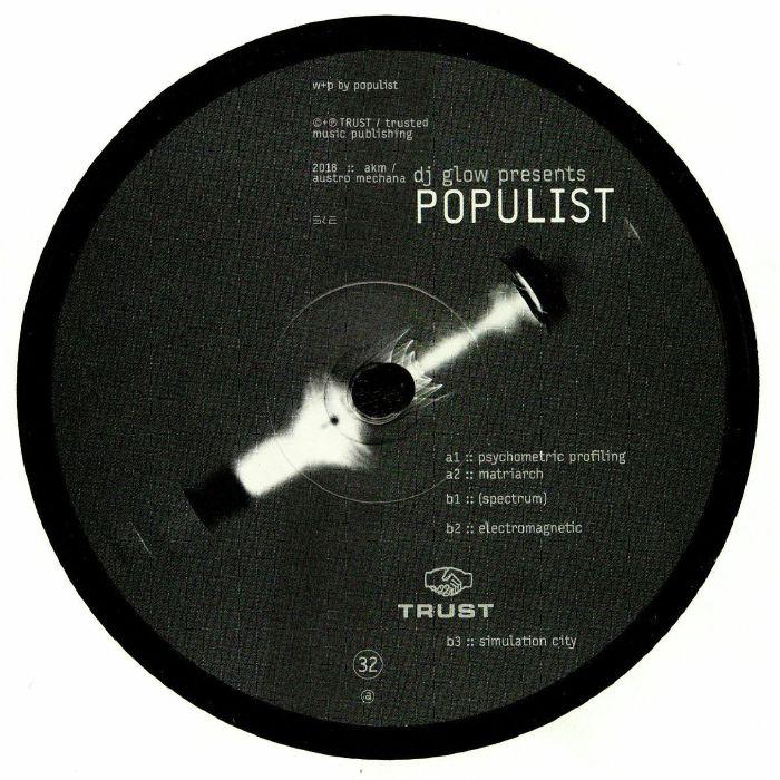 DJ GLOW presents POPULIST - Psychometric Profiling