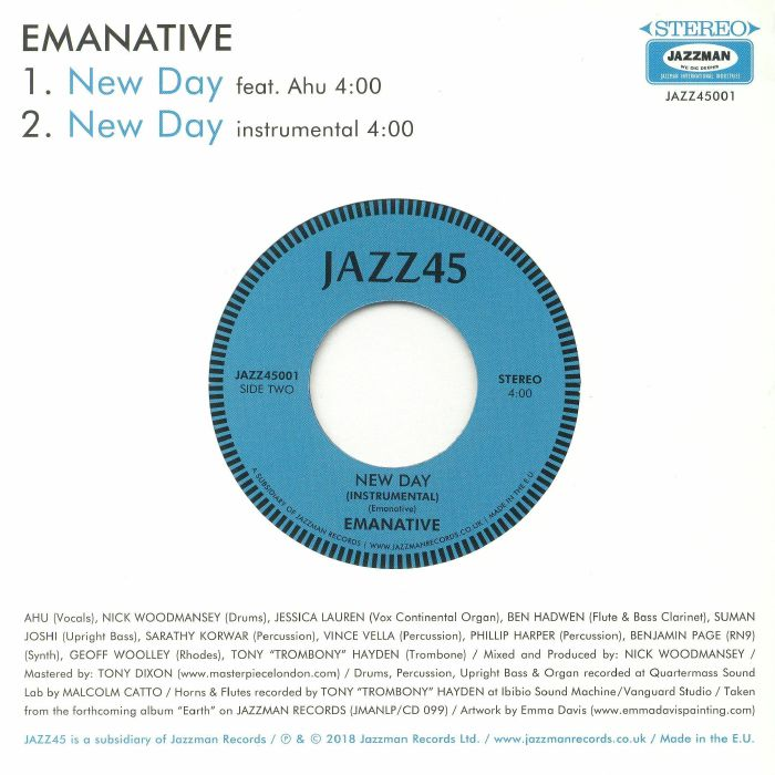 EMANATIVE feat AHU - New Day