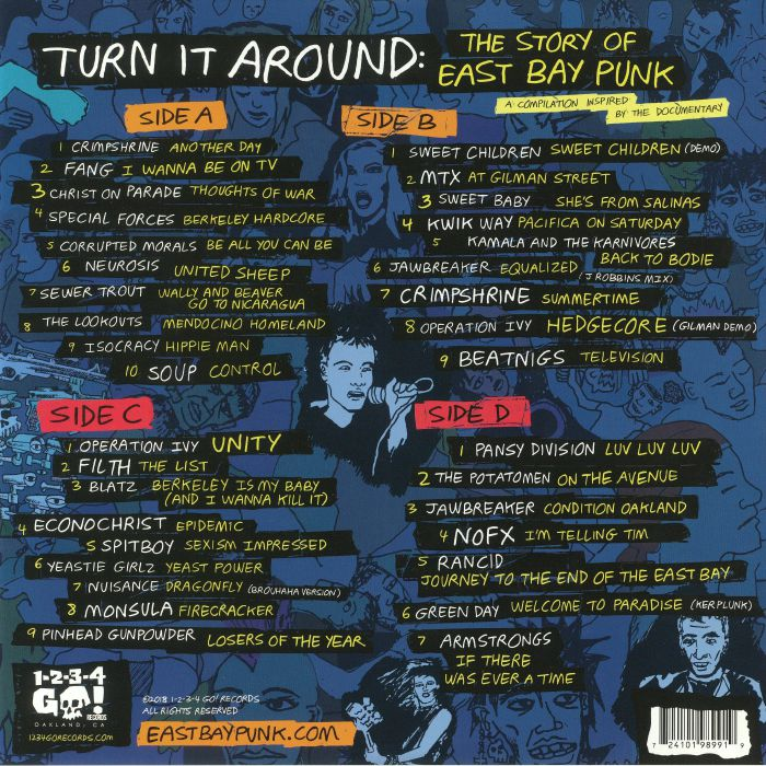 VARIOUS - Turn It Around: The Story Of East Bay Punk (Soundtrack)