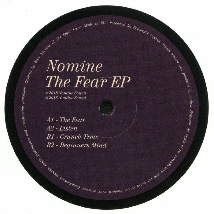 NOMINE - The Fear EP