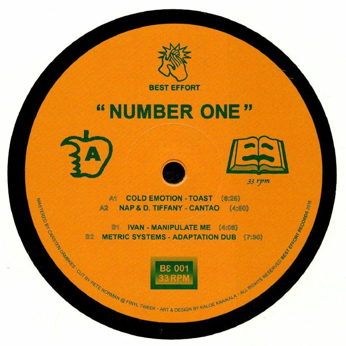 COLD EMOTION/NAP/D TIFFANY/IVAN/METRIC SYSTEMS - Number One