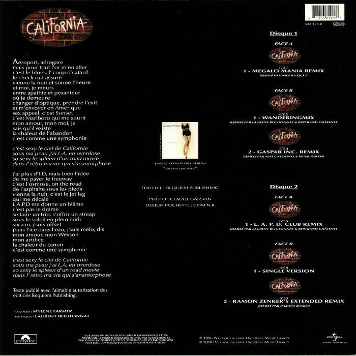 FARMER, Mylene - California Remixes (reissue)