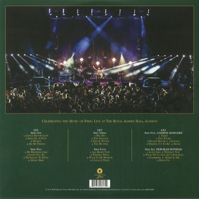 Paul Rodgers Free Spirit Vinyl At Juno Records