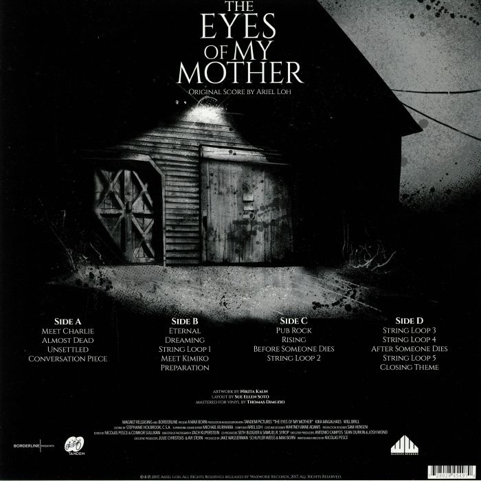 LOH, Ariel - The Eyes Of My Mother (Soundtrack)