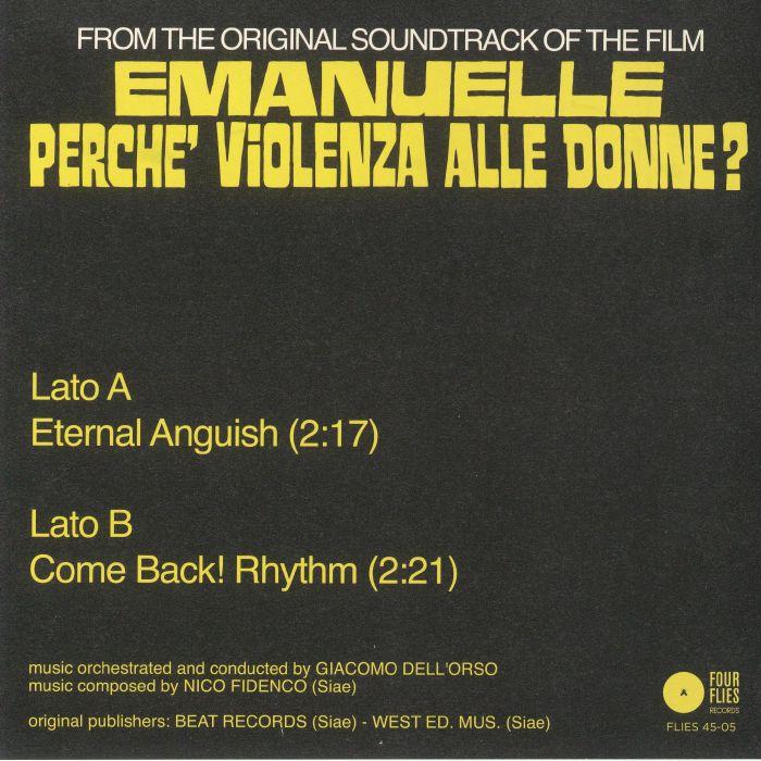 FIDENCO, Nico - Emanuelle Perche' Violenza Alle Donne? (Soundtrack)