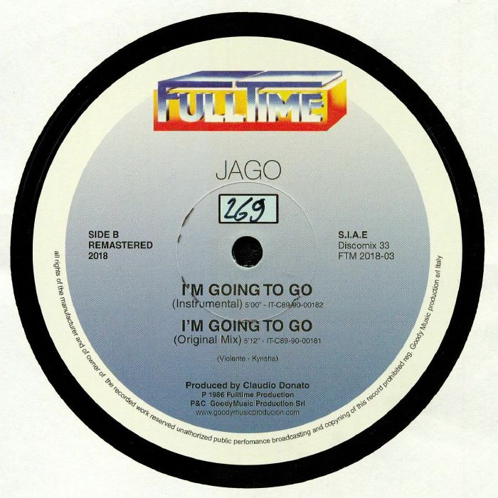 JAGO - I'm Going To Go (remastered)